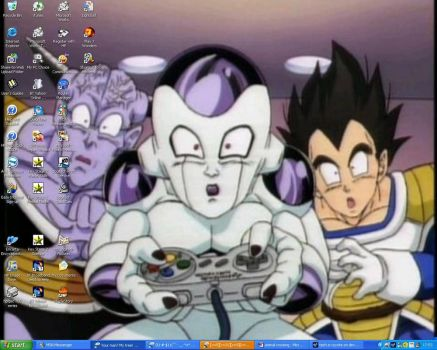 dragon ball Z bg VERY funny by tech-e-coyote