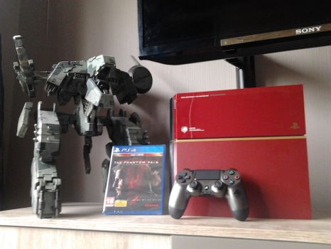 limited edition metal gear solid 5 ps4 by BlueThunder66