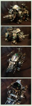 Metal Rhimos Custom by AuroraLion