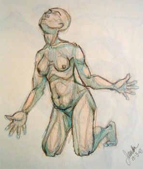 Anatomy sketch no5 by thesilentsidhe