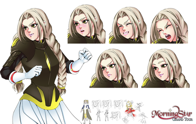 Morag Ver.2 Character Sheet by Renmiou