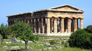Paestum - Neptun Temple by UdoChristmann