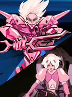 pink diamond's silhouette finally explained by Katish-chan