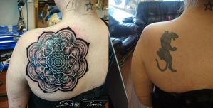 Tattoo cover up by AtomiccircuS