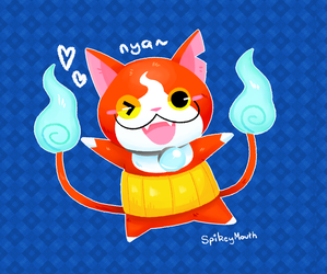 NYAA~~ by The-Spikey-Mouth