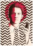 Push Record : Agent Dale Cooper by cryssy