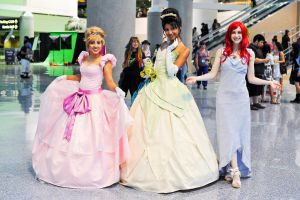 :Three Disney Princesses: by Lil-Kute-Dream