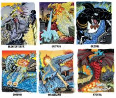 Colossal Kaiju Combat Trading Card Sample 2 by fbwash
