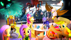 Blender Pony Artists Tribute! Updated! by Shastro
