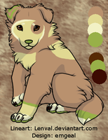 Raini Pup 5 of 5 by emgeal