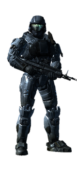 my halo reach spartan by Lycan93