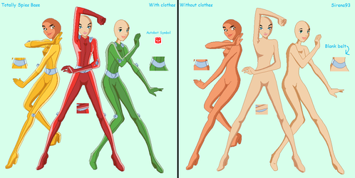 Totally Spies Base by Sirena93