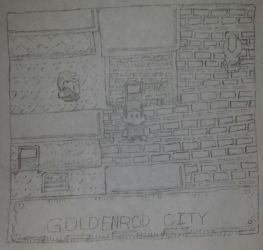 Goldenrod City by saiyankev