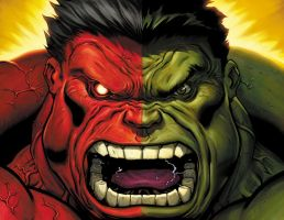 who is the red hulk? by EdMcGuinness