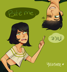 Bite Me Ho by yosuehere