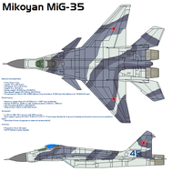 Mikoyan MiG-35 by bagera3005