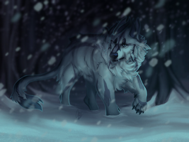 Through the Snow by alridpath
