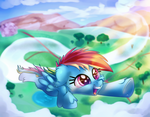 ATG Day 2 Flying Colors by thediscorded