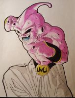 Kid Buu by LadyAlvarez