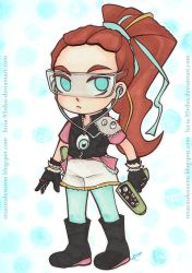 Character Design  DECORA GIRL! (2/4) by Lucia-95RduS