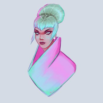 Regal || Neon by pinkastr