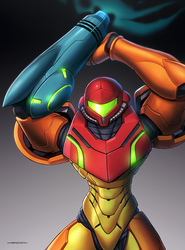 Samus (Ultimate) by hybridmink