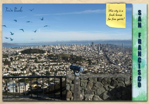 Cisco Travel Journal - City by crocusgirl