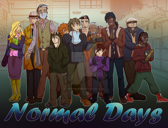 Normal Days Crew by TheBearTamer