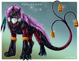 Tlalocmon by Sysirauta