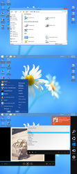 BlueStart8XP - Desktop Screenshot (July 8, 2013) by aportz19