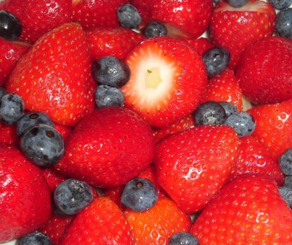 Mixed Berries I by Nereja