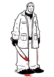 Jason Voorhees by I-heart-Link