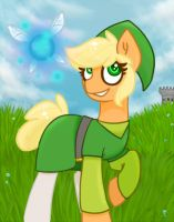 Apple...Link? by HollyHooves
