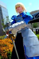 Saber Cosplay Fate Stay Night by HatterSisters