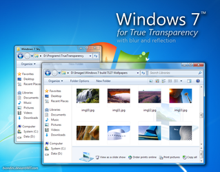 Windows 7 for TT with blur by biondini