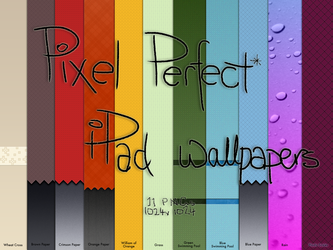 Pixel Perfect iPad Wallpapers by everbloom