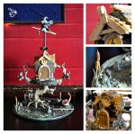 Witch House Cake by Puppygrenade