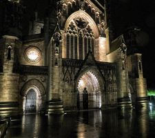 Hereford cathedral by UdoChristmann