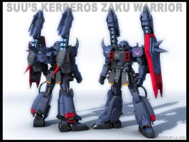 zaku warrior-suu's kerberos by Ladav01