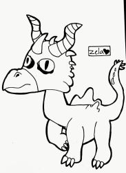 When I Draw a Dinosaur Or Something by ColoredButterfly
