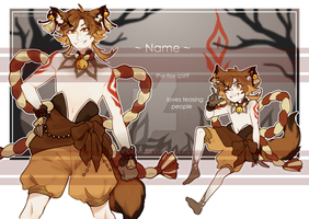 Fox Spirit Adoptable [CLOSED] by invidens
