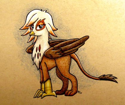 Ingrid the Griffon Character Render for LCut by Art-of-Matthew