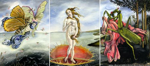Venus of the Flytrap by MuralsWithoutBorders