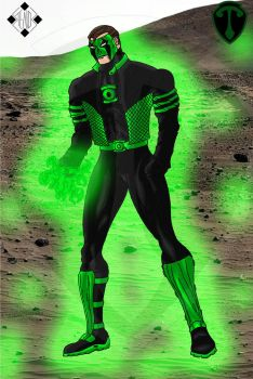 Green Lantern - Powering up 2 by Stelios-Tomazos