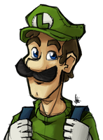 Luigi by TheArtrix