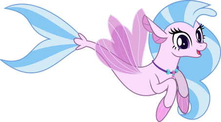 MLP Vector - Seapony Silverstream by jhayarr23
