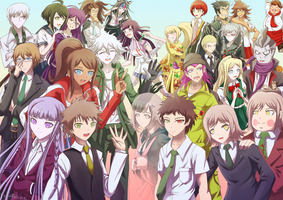 Danganronpa Survivors by Jeffanime