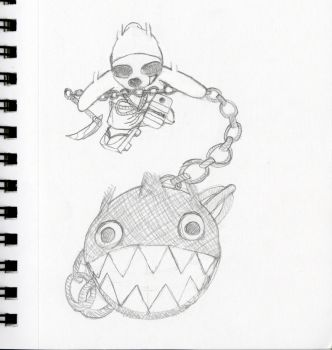 Chain Chomp Smash by Axol-The-Axolotl