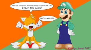 When Tails and Luigi Team Up by PPG-Katelyn