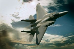 F 15 eagle by JHILLS